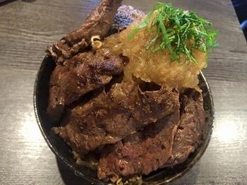 西中島南方 ステーキハンバーグのタケル ステーキ丼